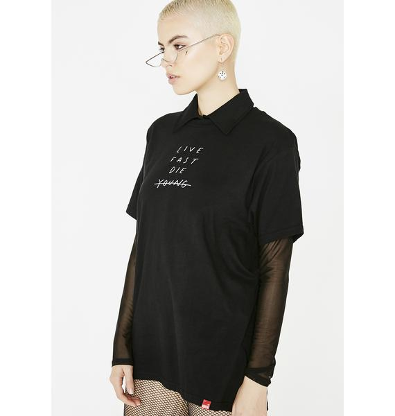 MNKR Live Fast Die Young T-Shirt