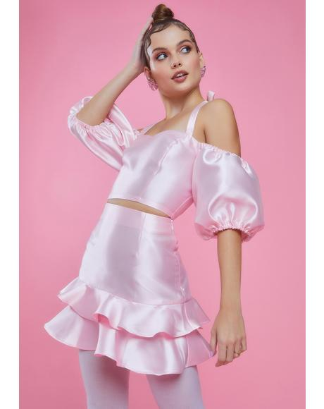 Twilight Soiree Ruffle Skirt