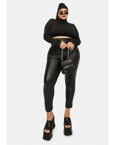 I'm Always Fearless Vegan Leather Leggings