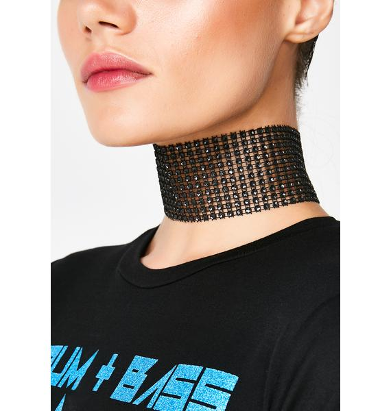 Hyped On Sparkles Choker
