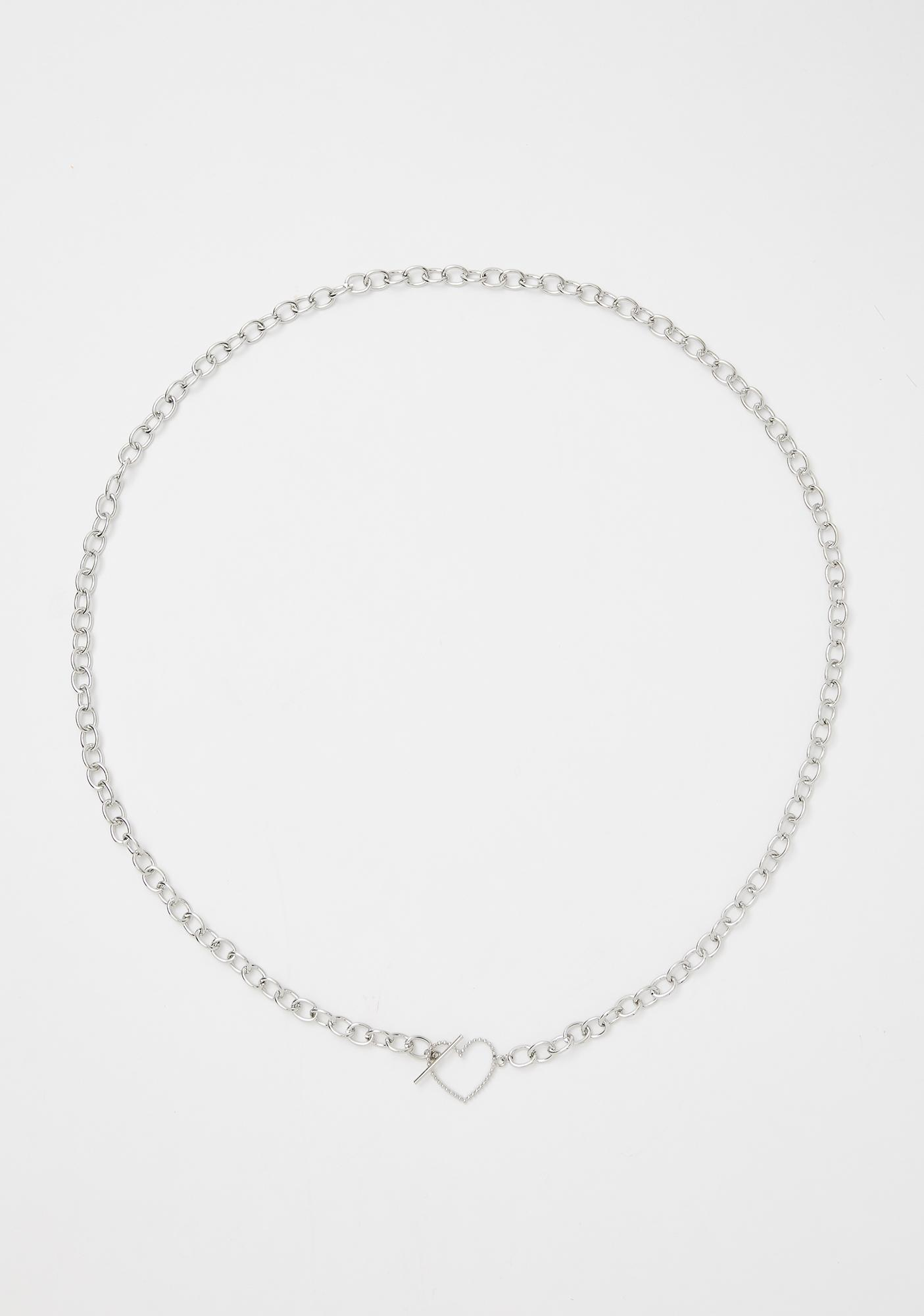 Barred From Love Chain Necklace