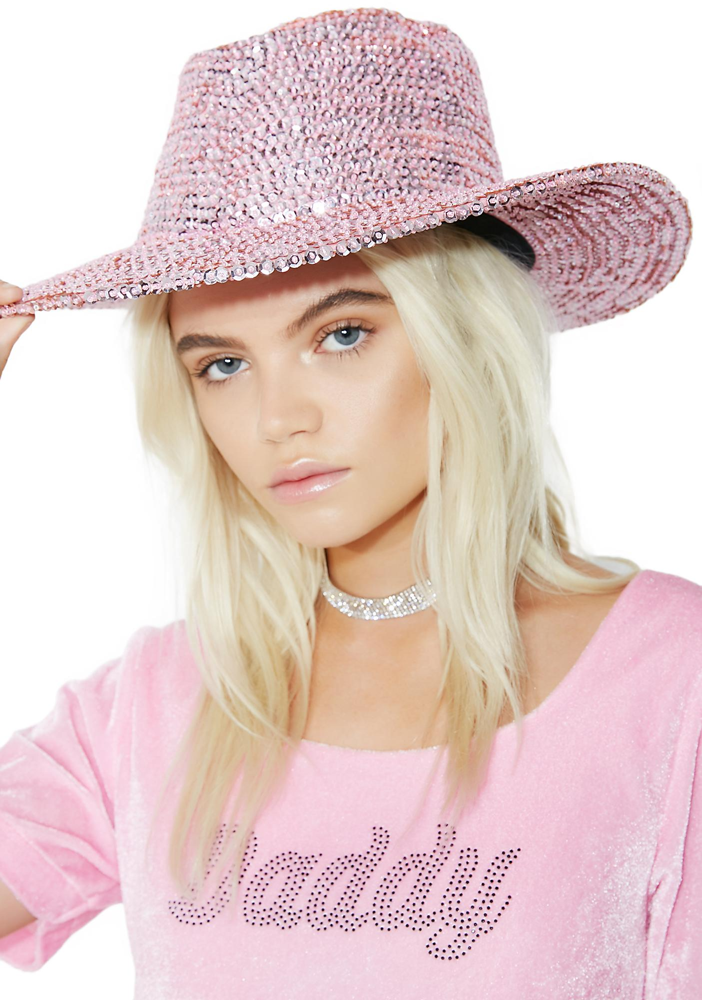 Cowgirl Cutie Sequin Hat