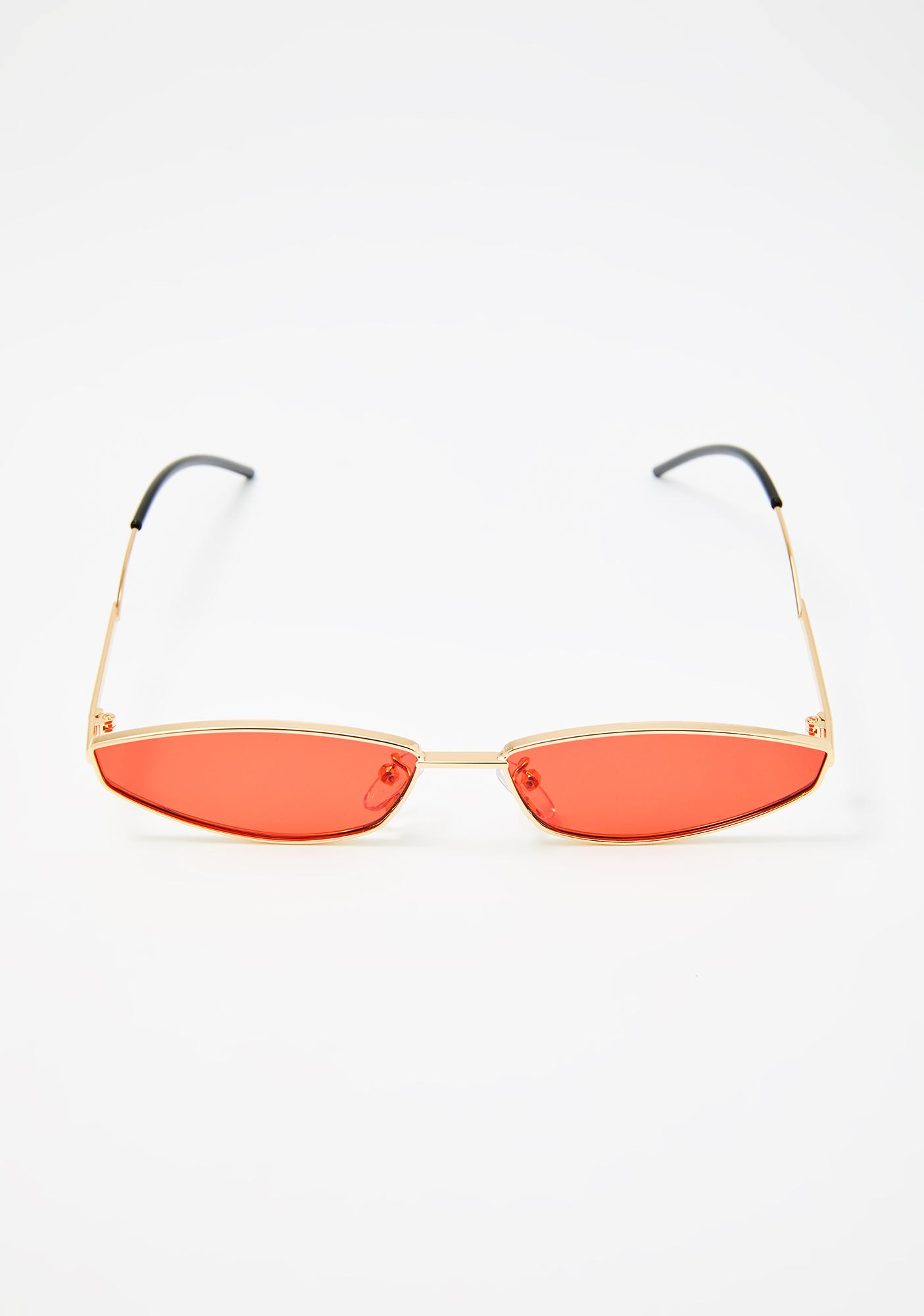 Hot Luxe Dimension Tiny Sunglasses