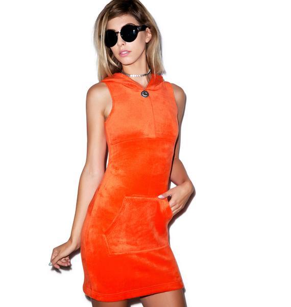 Motel Trixy Hooded Dress