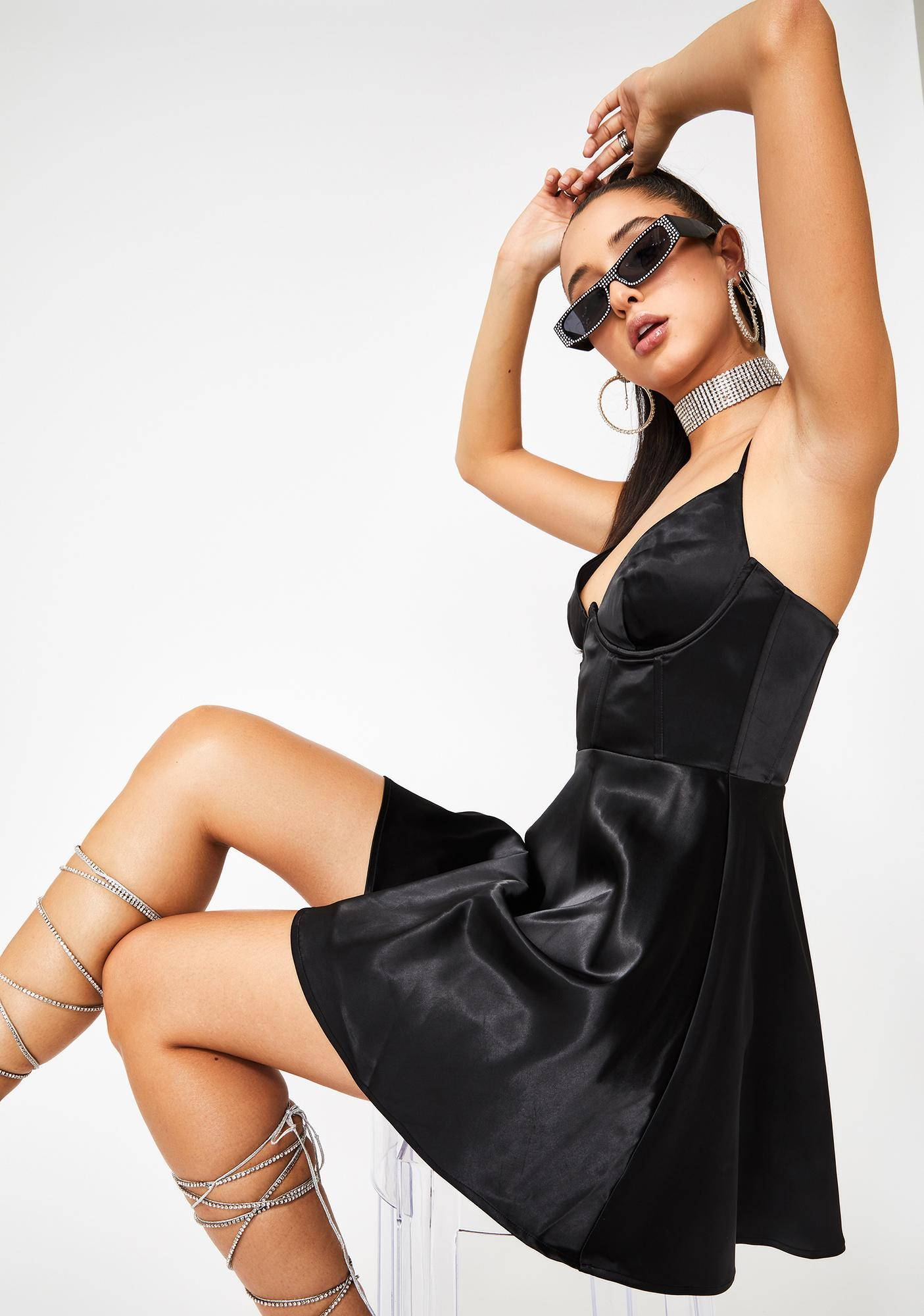Poster Grl Hott Dish Corset Dress