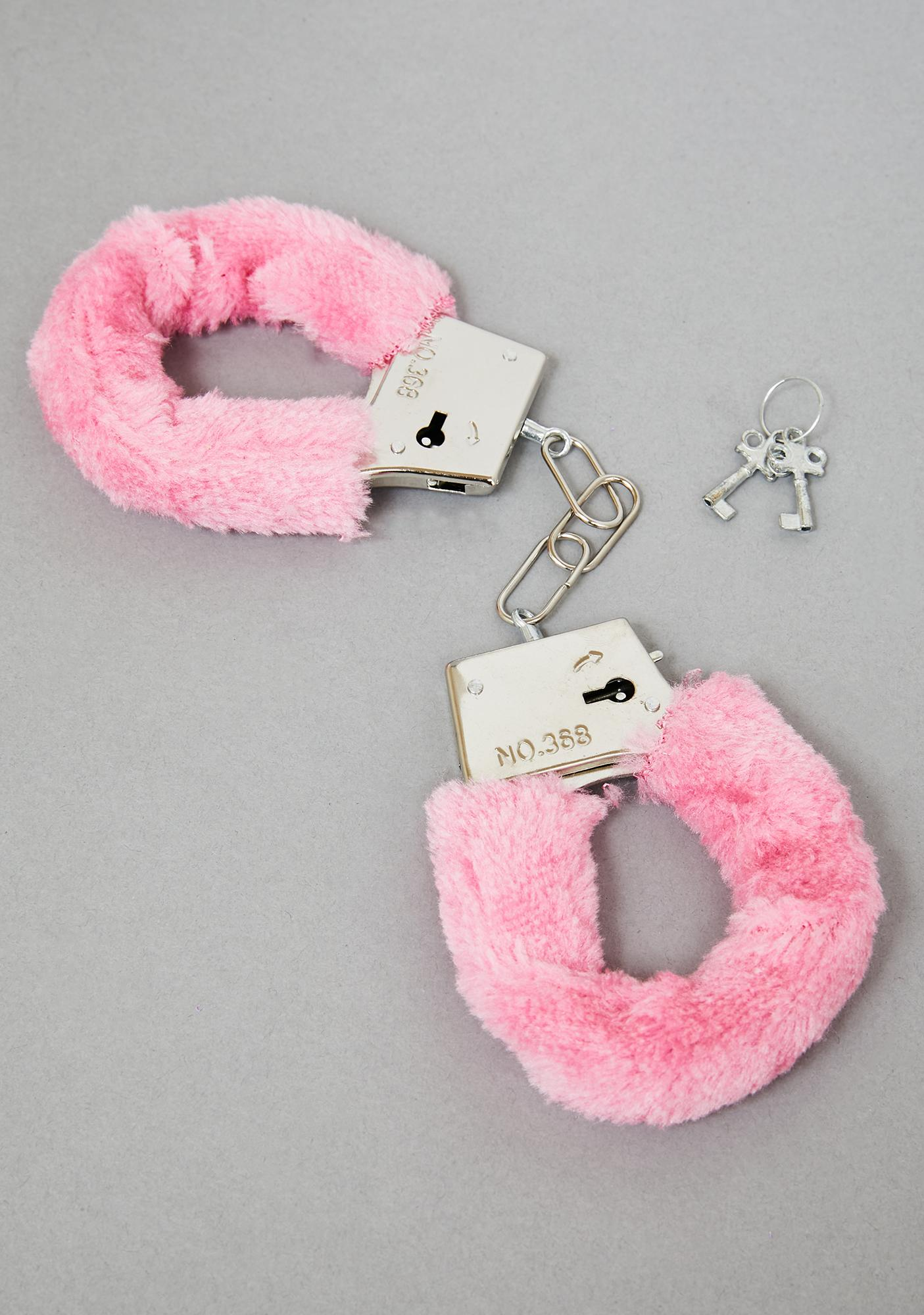 I've Been Bad Fuzzy Handcuffs