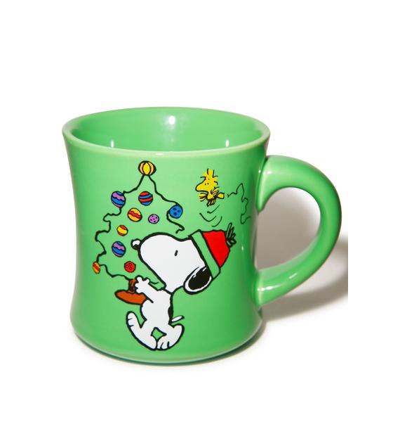 Peace On Earth Ceramic Mug