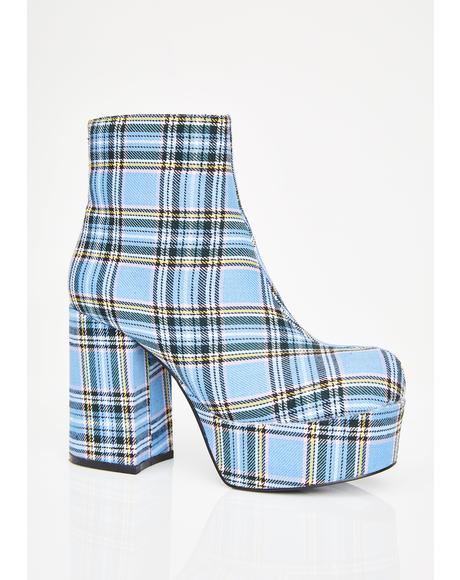 Royal School Of Sass Platform Boots