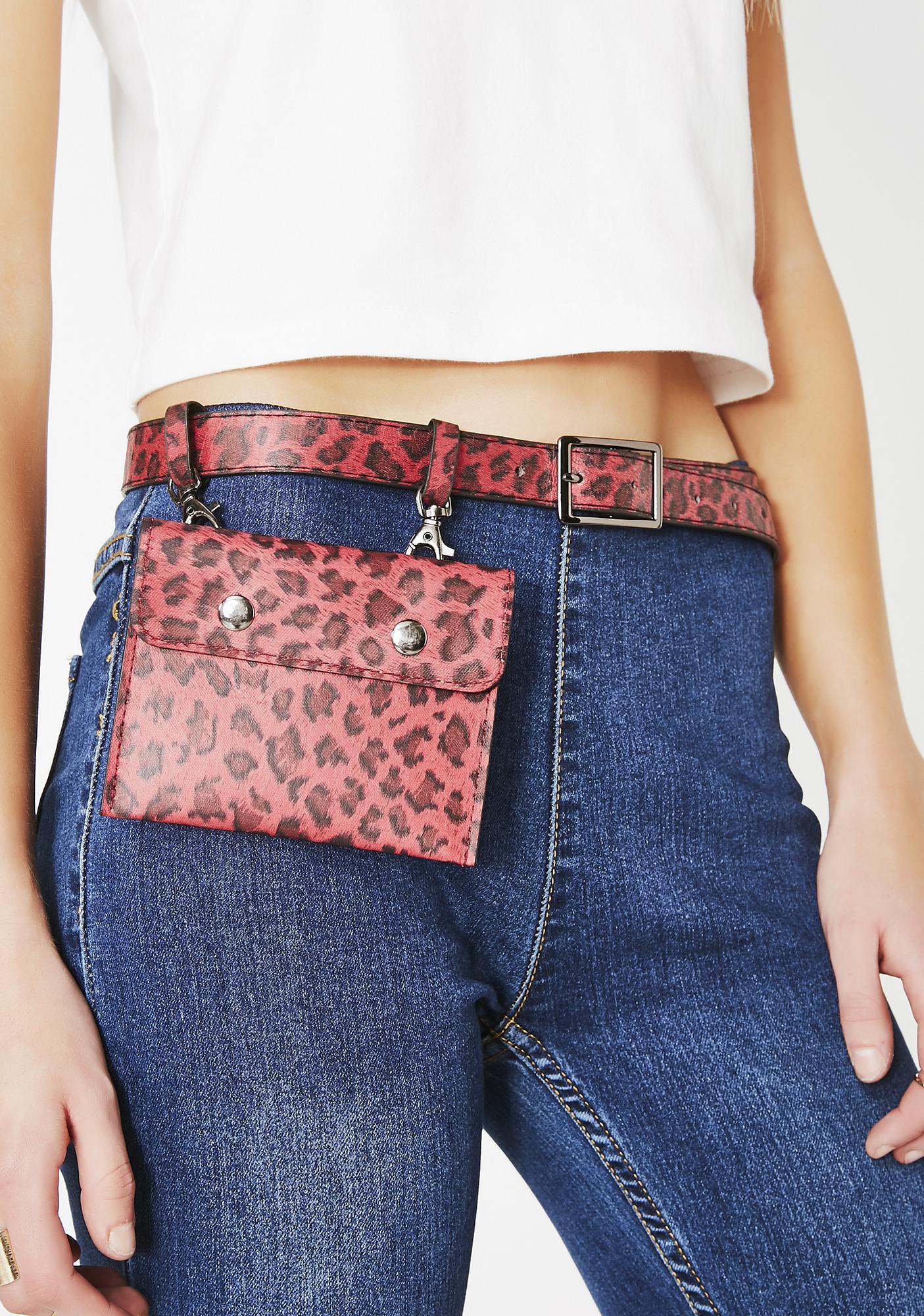 Fierce Frenzy Belt Bag