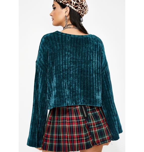 Cozie Cutie Chenille Sweater