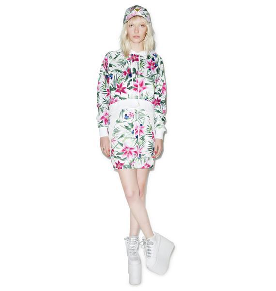 Joyrich Optical Garden Tube Skirt