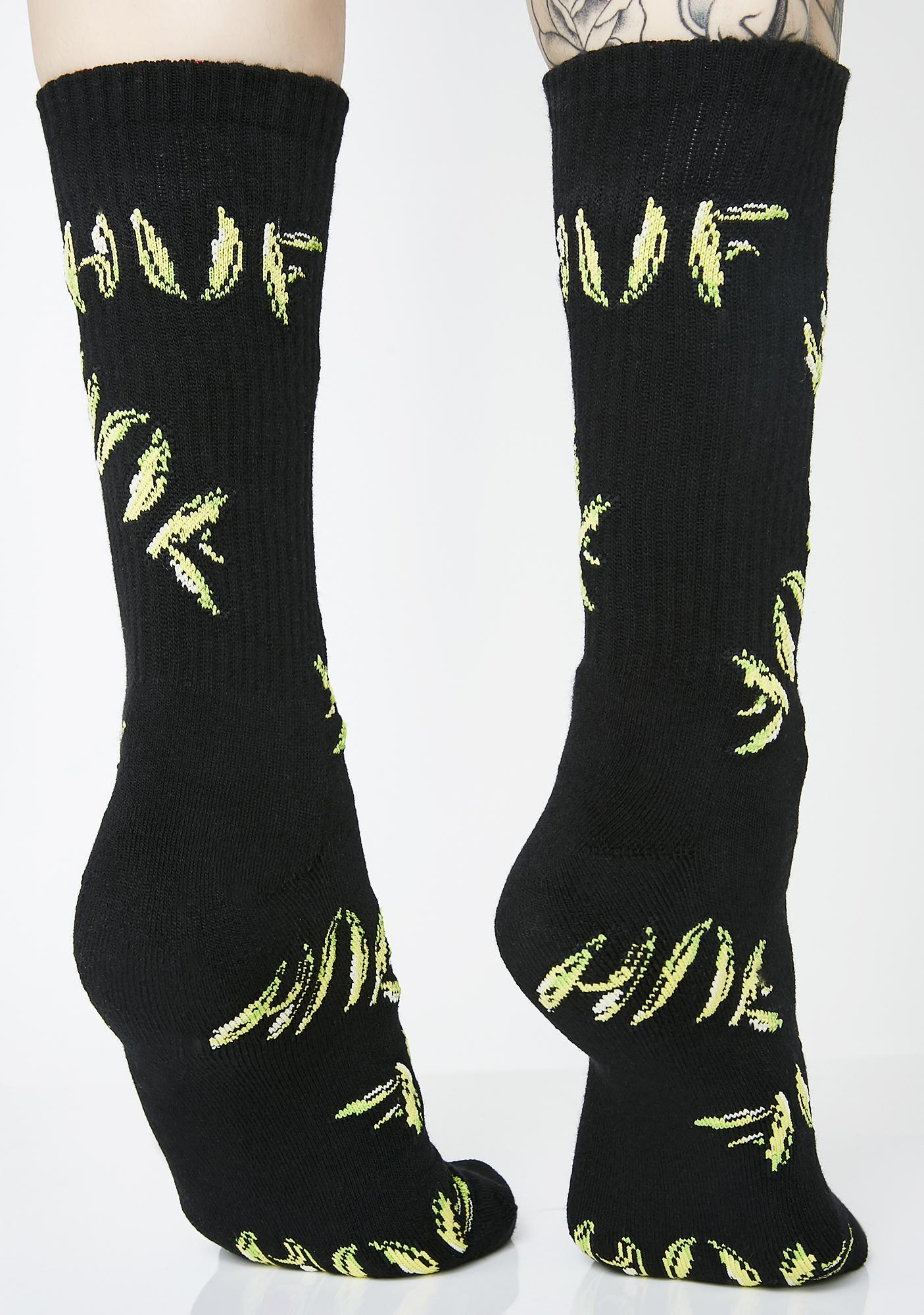 HUF Banana Socks