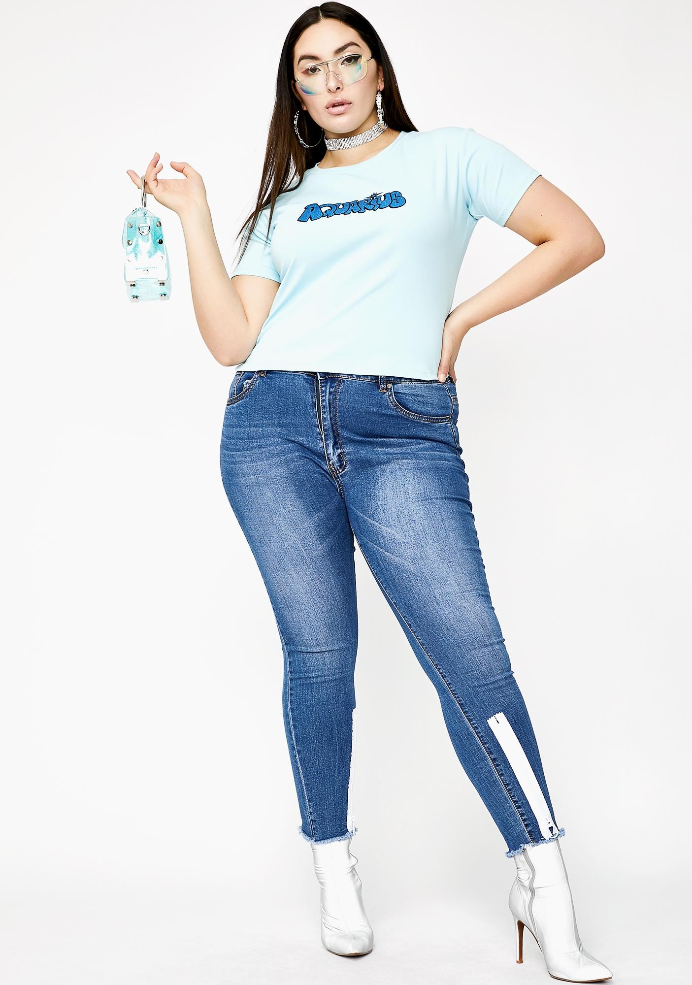 HOROSCOPEZ True Airy Aquarius Tee