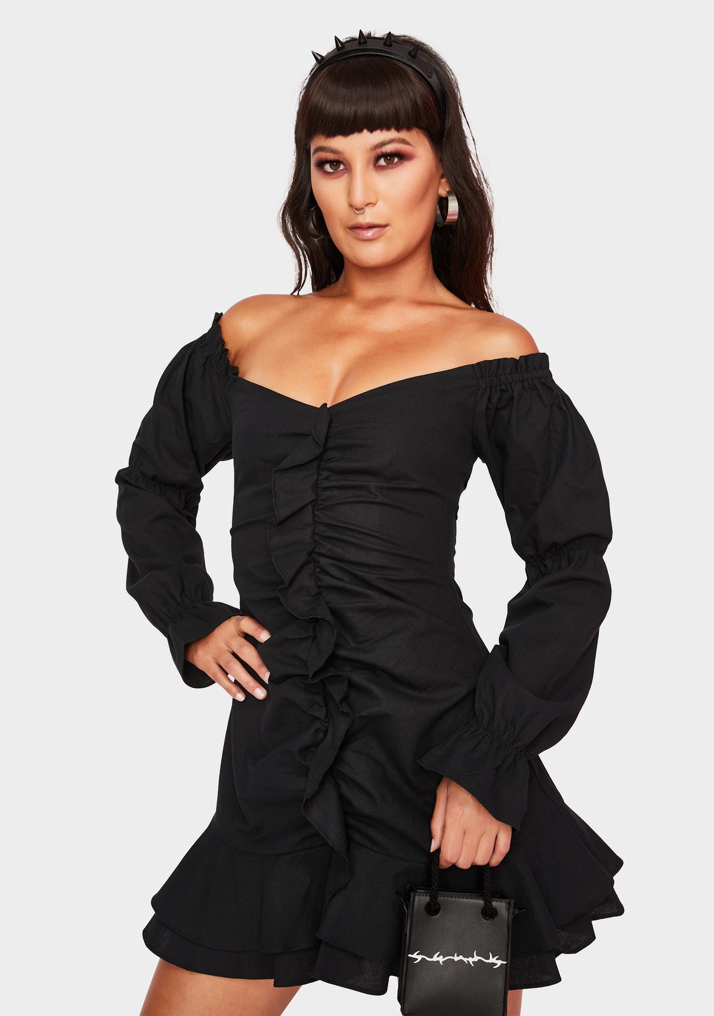 Runaway the Label Lottie Ruffle Mini Dress