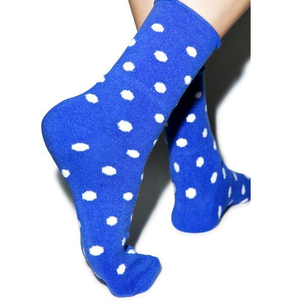Plush Spottie Dopalicious Fleece Socks
