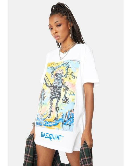 X Basquiat Catch Graphic Tee