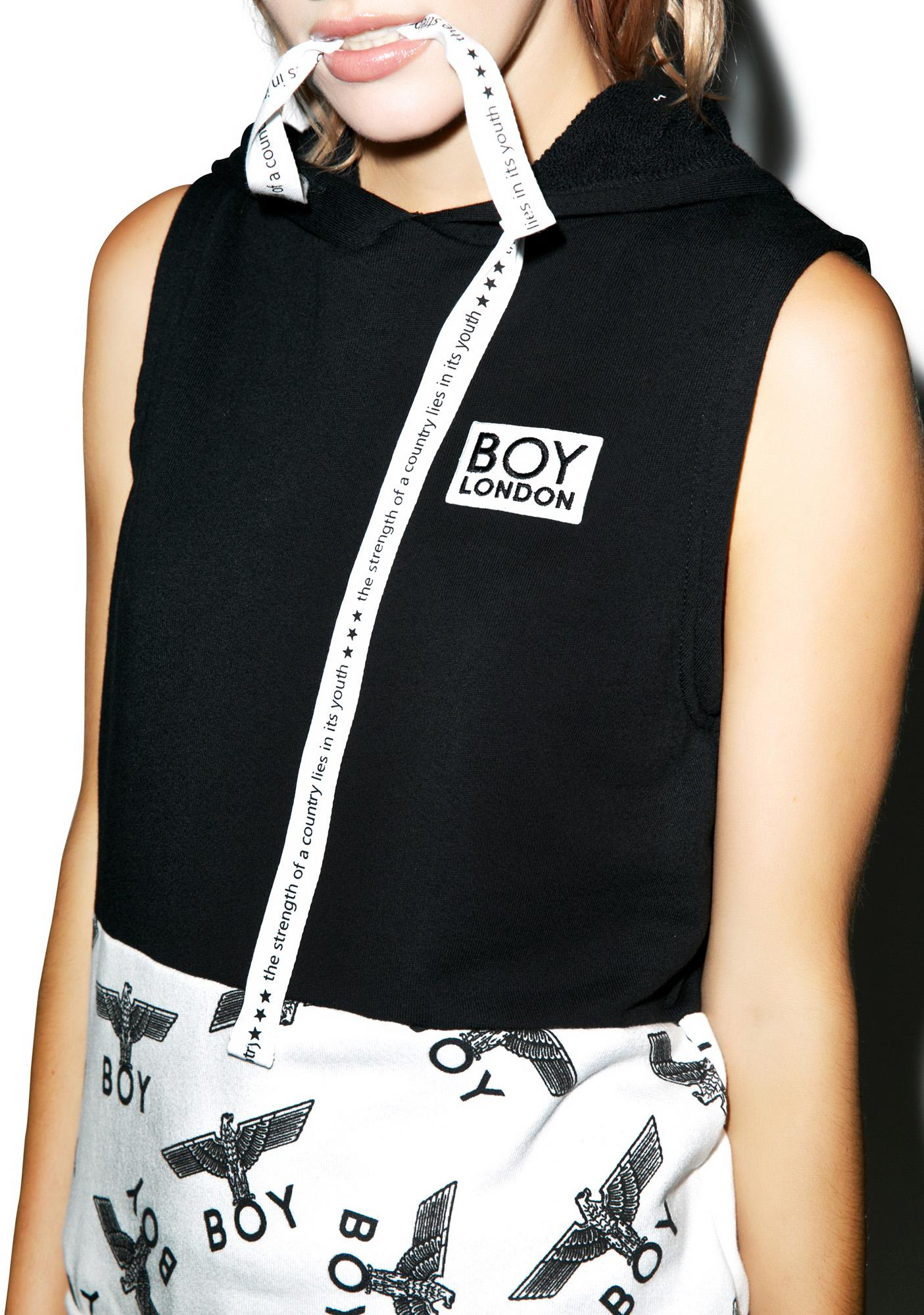 BOY London Block Eagle Muscle Pullover
