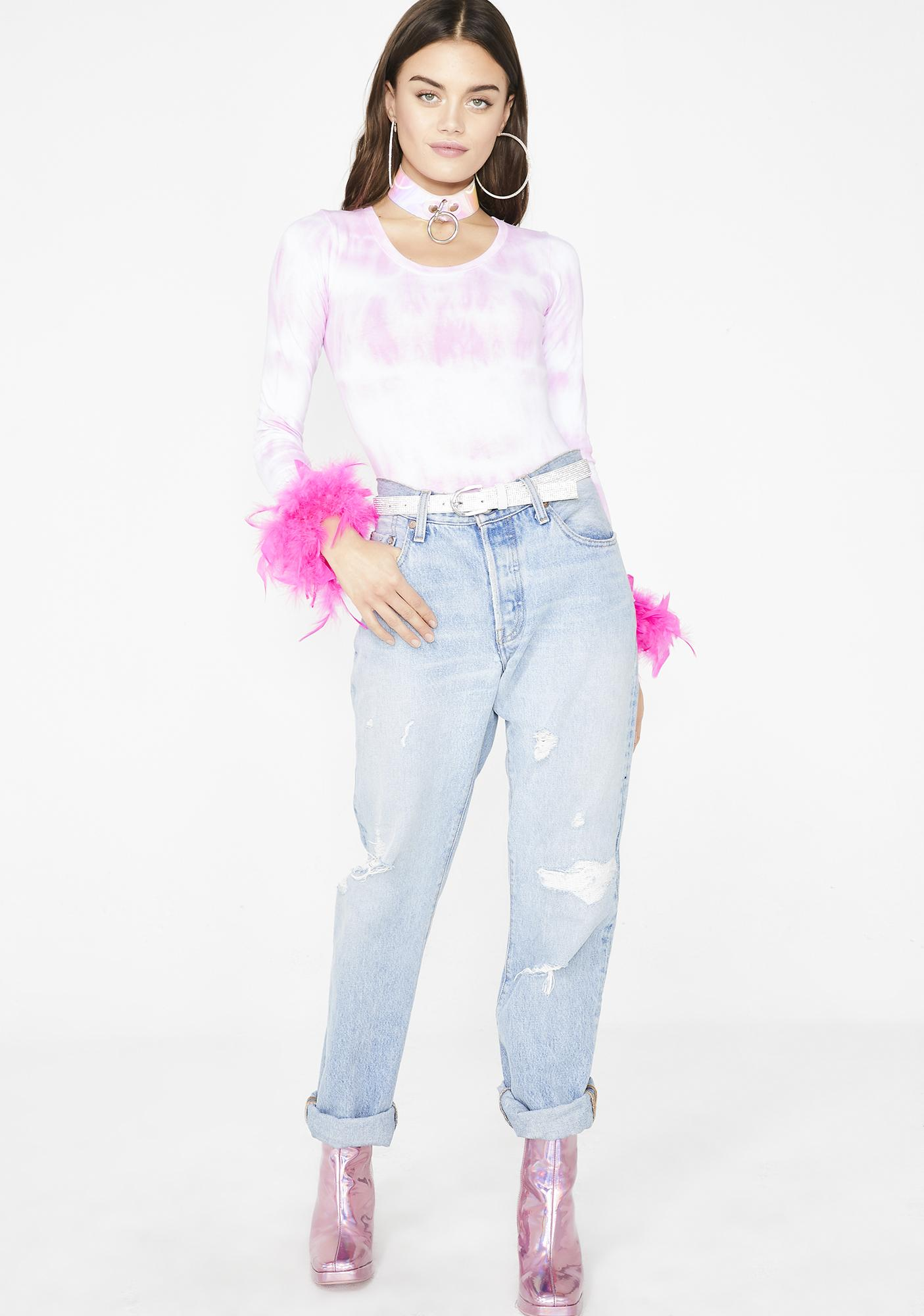 Daisy Shock Sweet Electric Mermaid Bodysuit