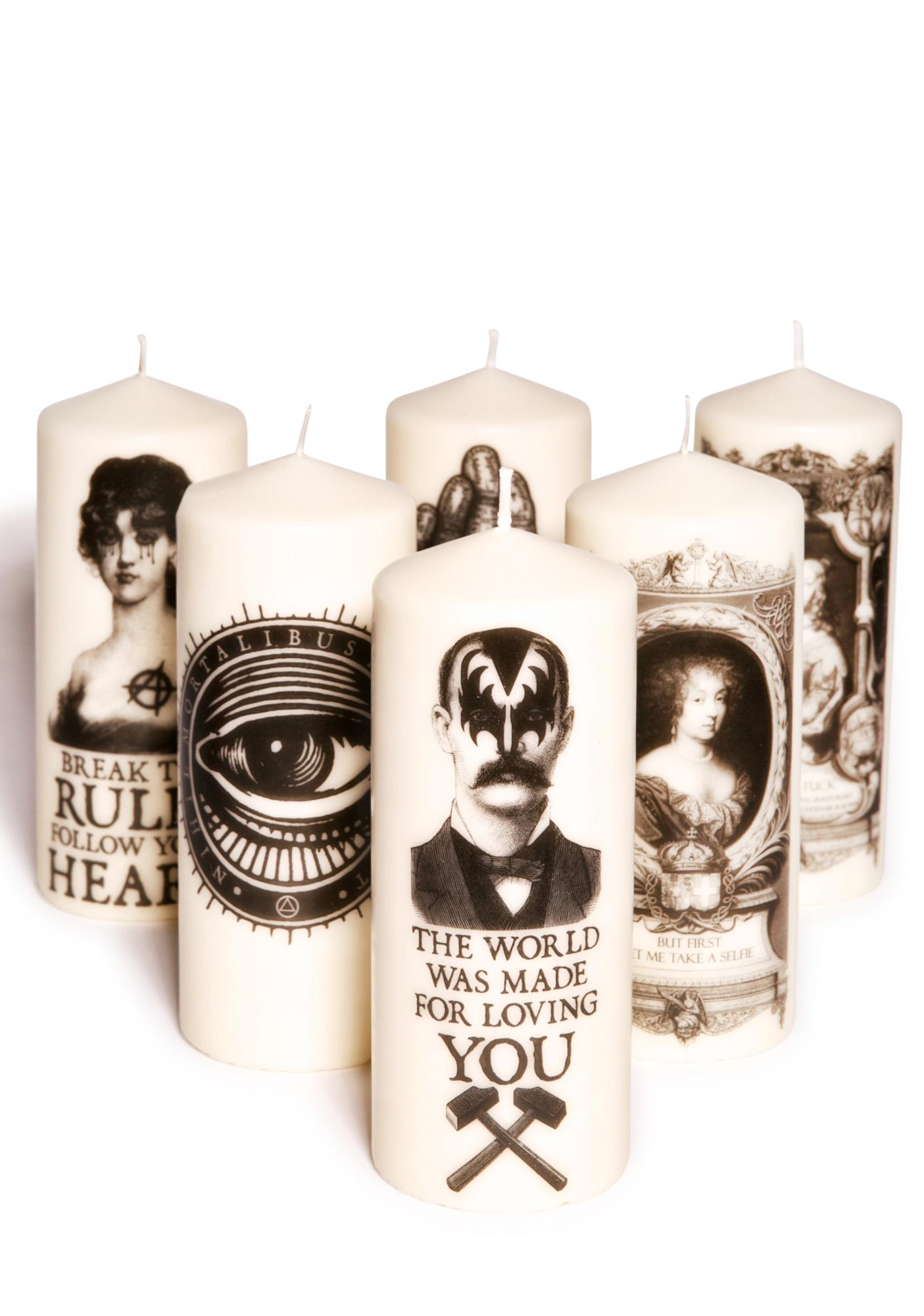 Kiss Candle