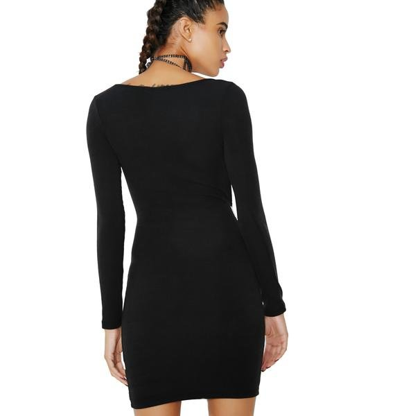 Wicked Games Cut-Out Bodycon Dress