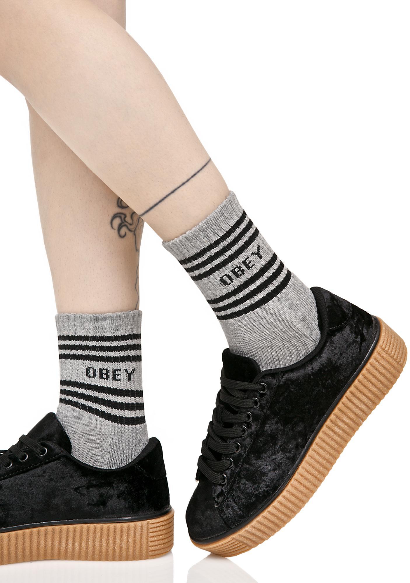 Obey Taylor Crew Socks