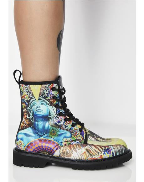 Rebel Vegan Boots