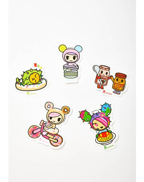 Cravings Sticker Pack