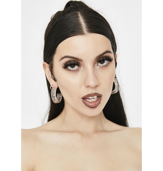 This Friday Night Hoop Earrings