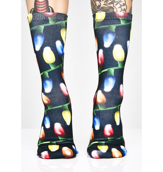 Finna Get Lit Ankle Socks