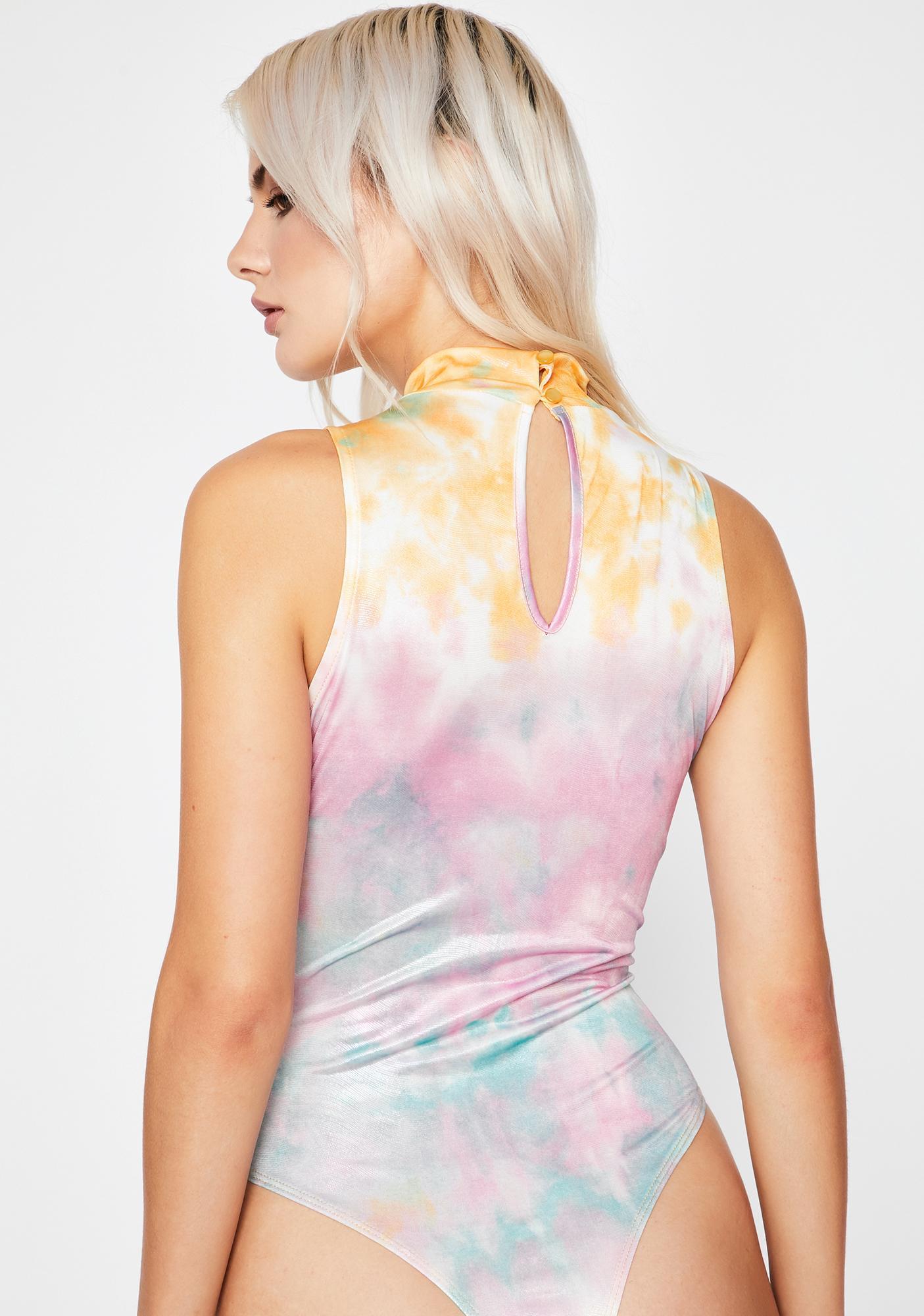 Solar Beam Metallic Bodysuit