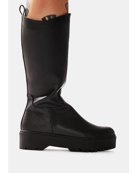 Law & Disorder Biker Boots