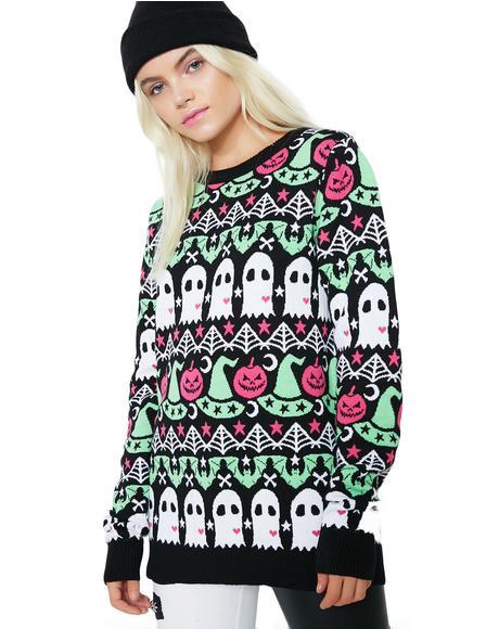 Spooky Crew Sweater