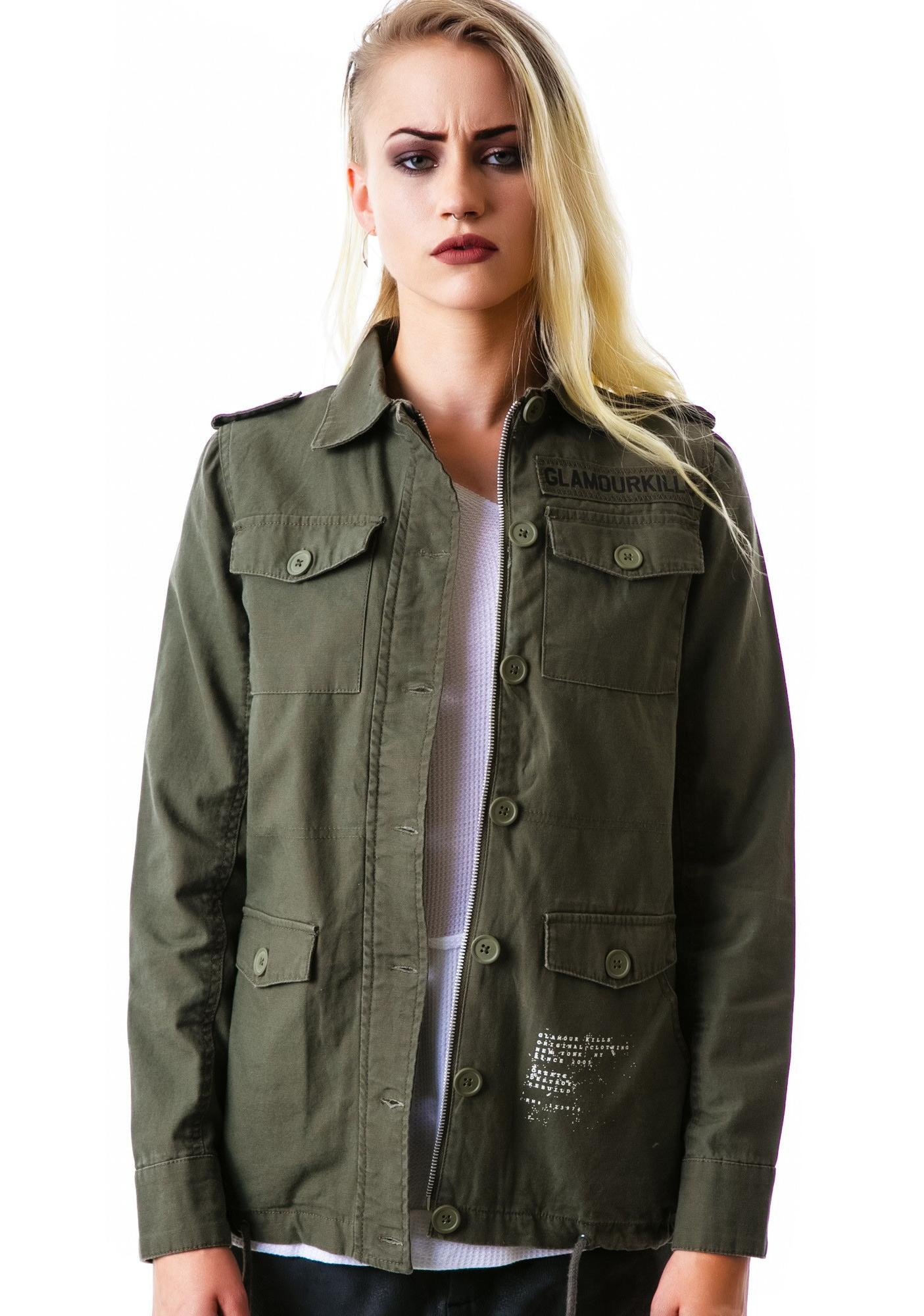 Glamour Kills Stand Attention Surplus Jacket