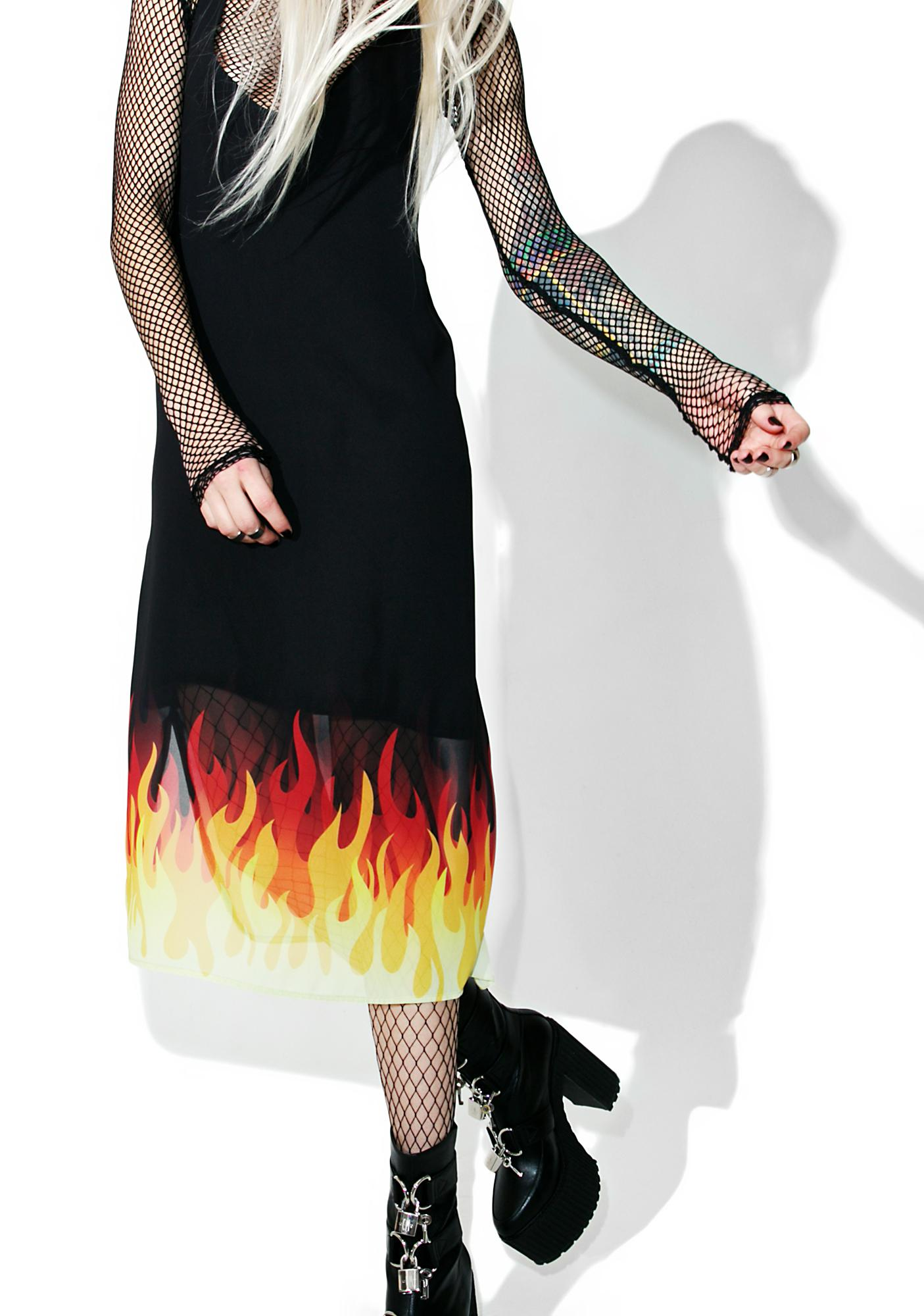 The Ragged Priest Inferno Dress