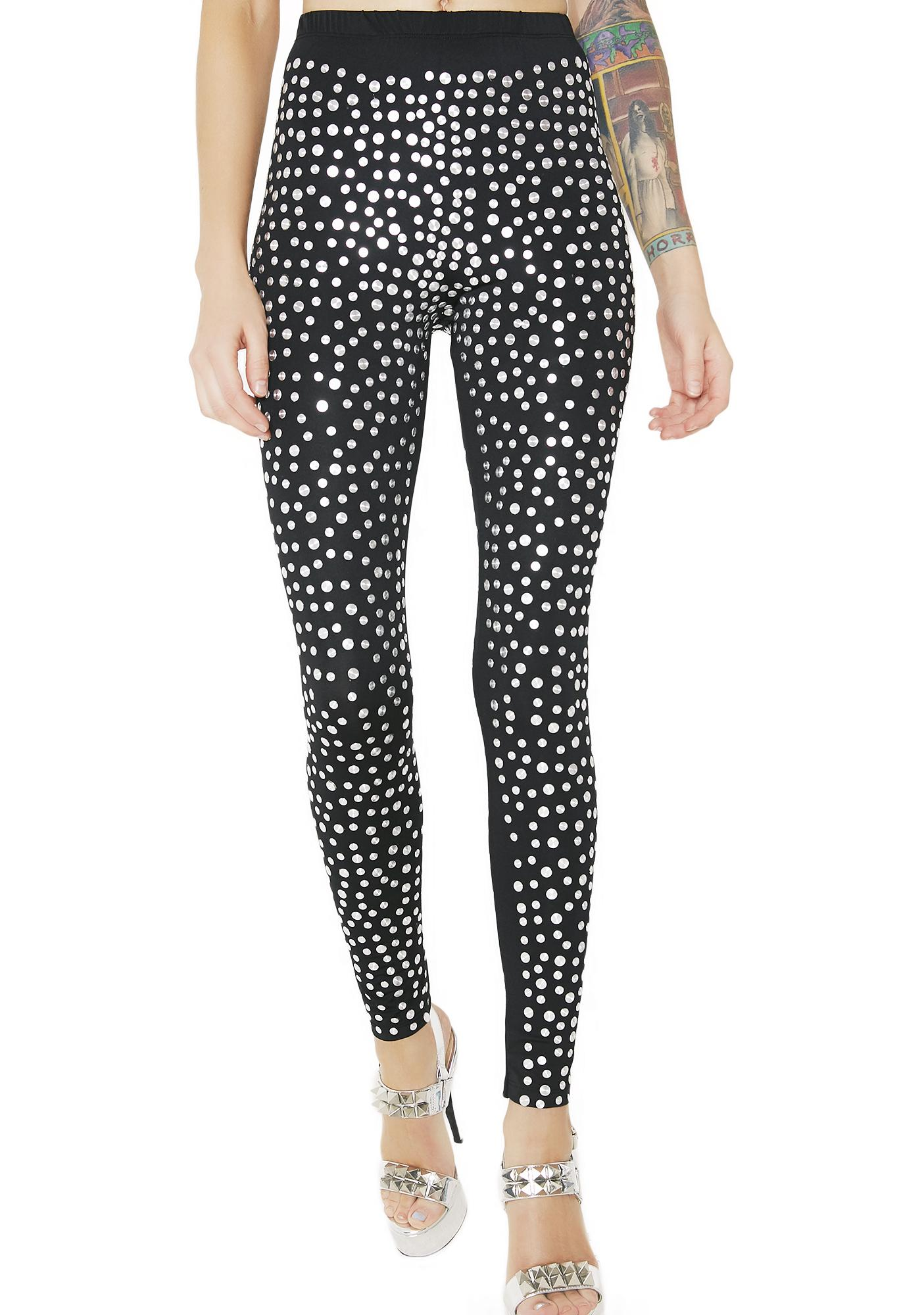 Easy Money Studded Leggings