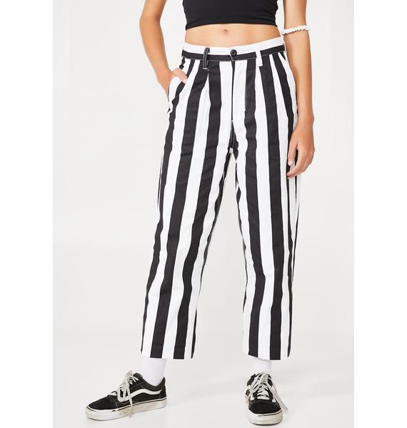 Obey Static Baggy Pants