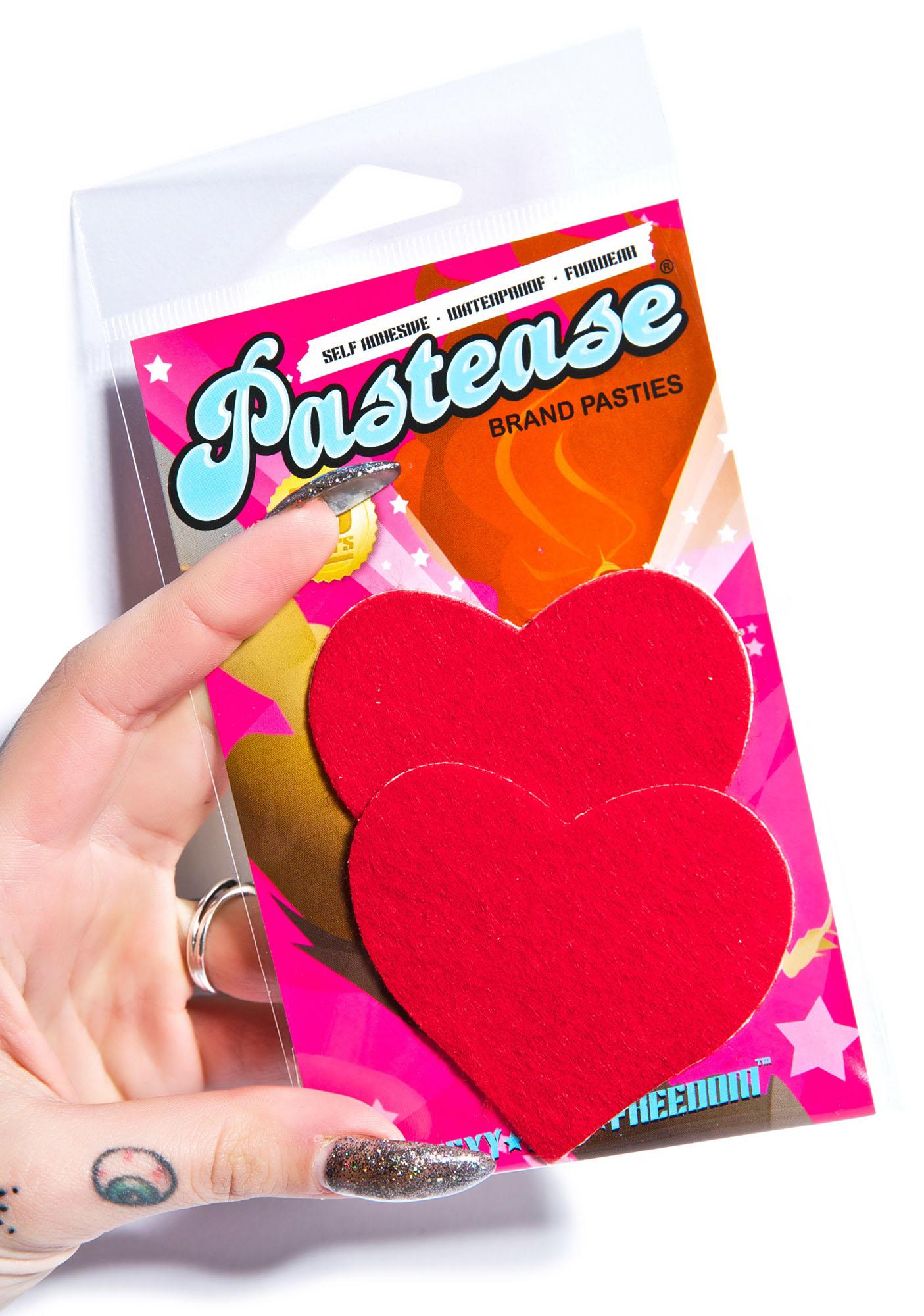 Pastease Heart Pasties