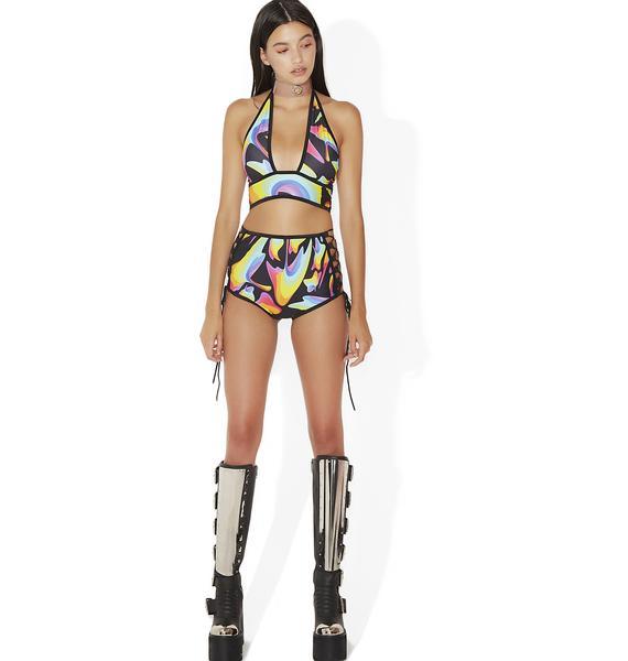 Indyanna Tessa Lace-Up Shorts