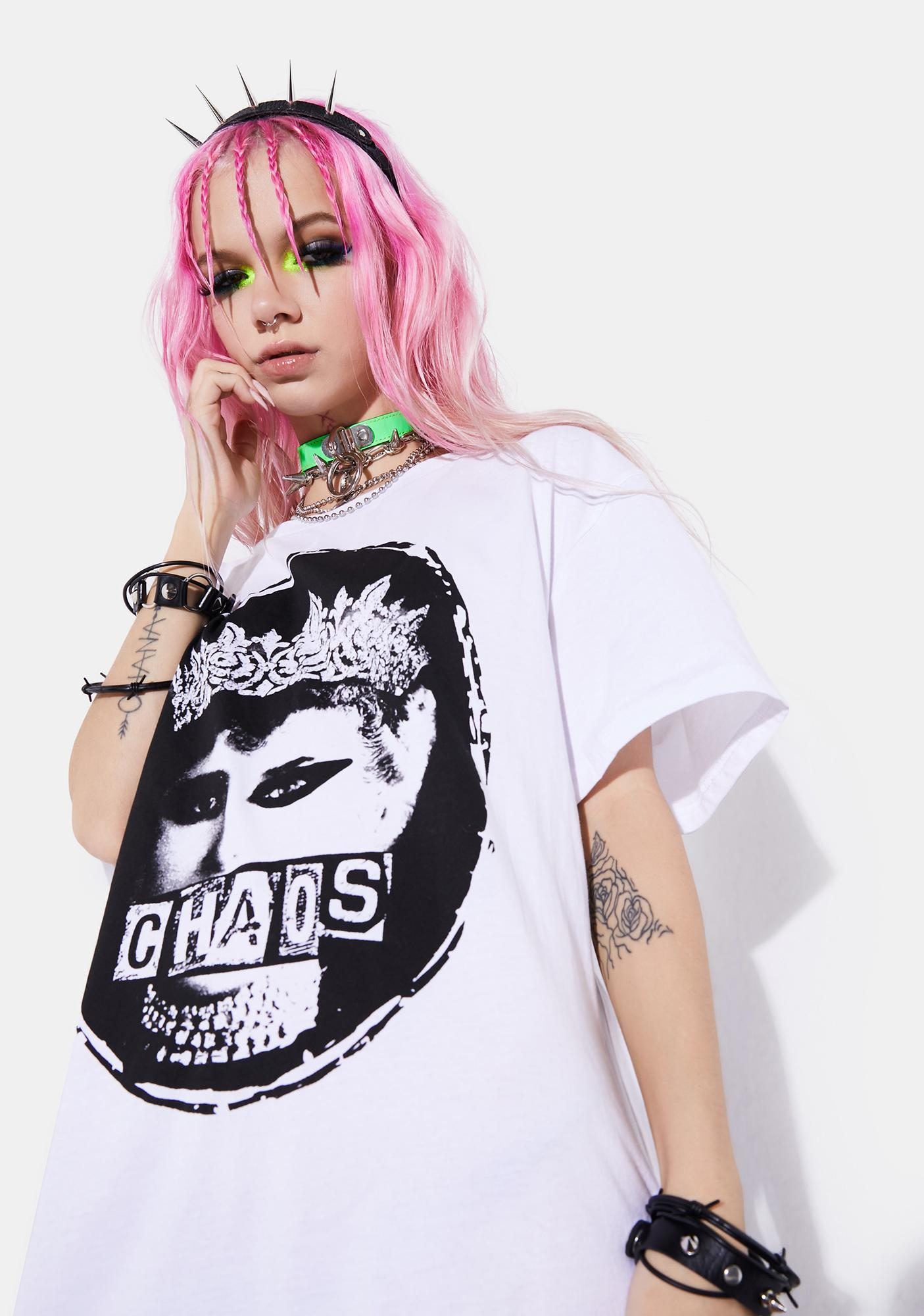 Current Mood Royal Chaos Graphic Tee
