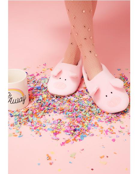 Oink Oink Non-Slip Slippers