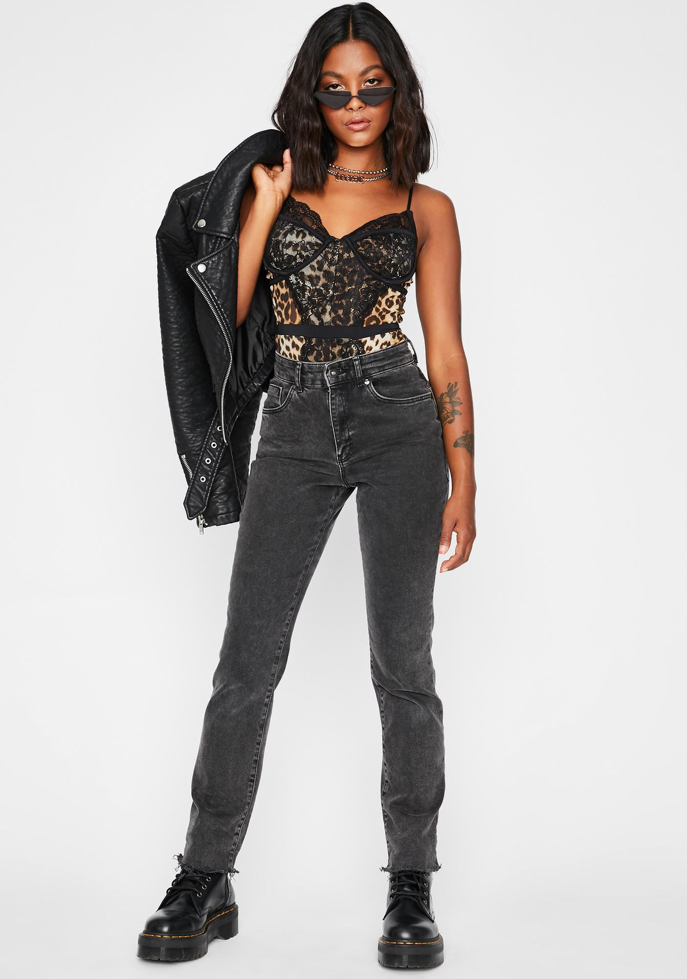 I'm Fierce Lace Bodysuit