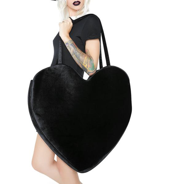 Sugar Thrillz Midnight Love Mega Tote Bag