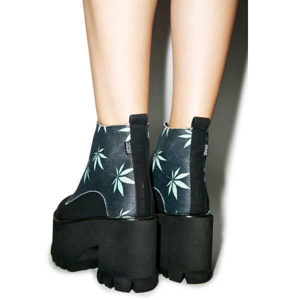 Hot!MeSS Da Reefa Platform Boots