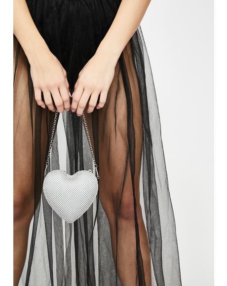 Glitzy Passion Rhinestone Handbag