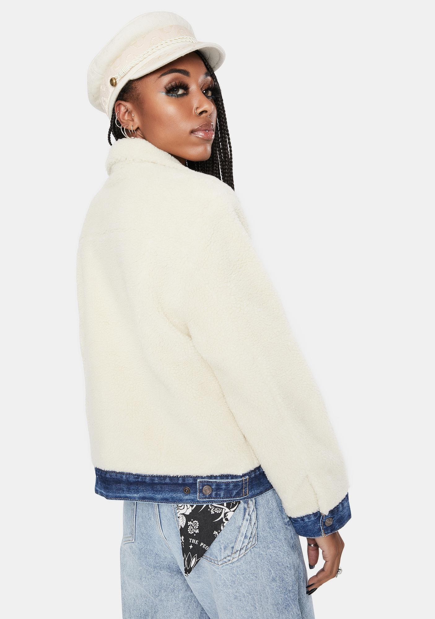 Levis Counting Sheep Ex-Bf Pieced Trucker Jacket