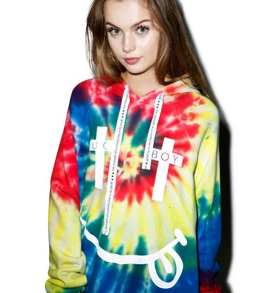 BOY London United Boy Acid Hooded Sweatshirt
