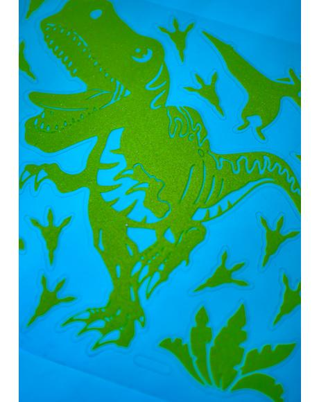 Age Of Dinosaurs Glow In The Dark Decals