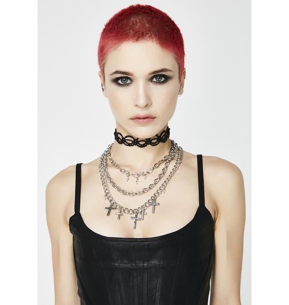 Full Time Sinner Layered Necklace
