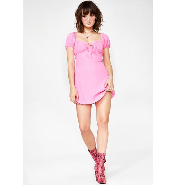 Candy Romantically Involved Mini Dress