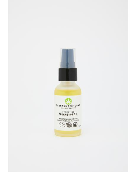 Hemp-Infused Hydrating Cleansing Oil